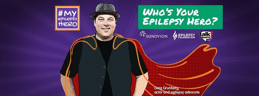 Who's Your Epilepsy Hero?